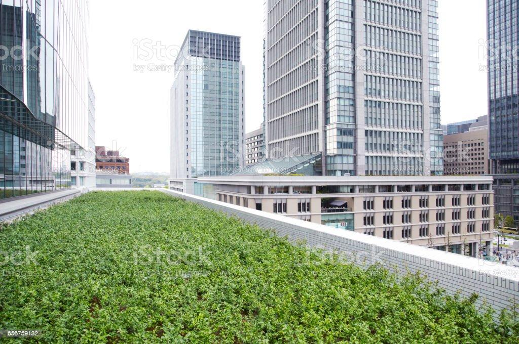 View of Tokyo at Marunouchi stock photo