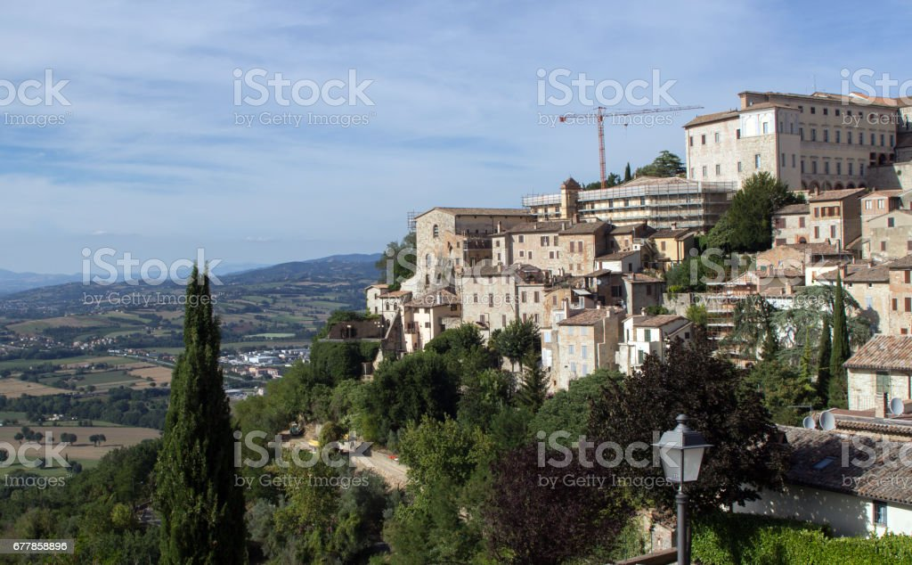 view of told- italy royalty-free stock photo