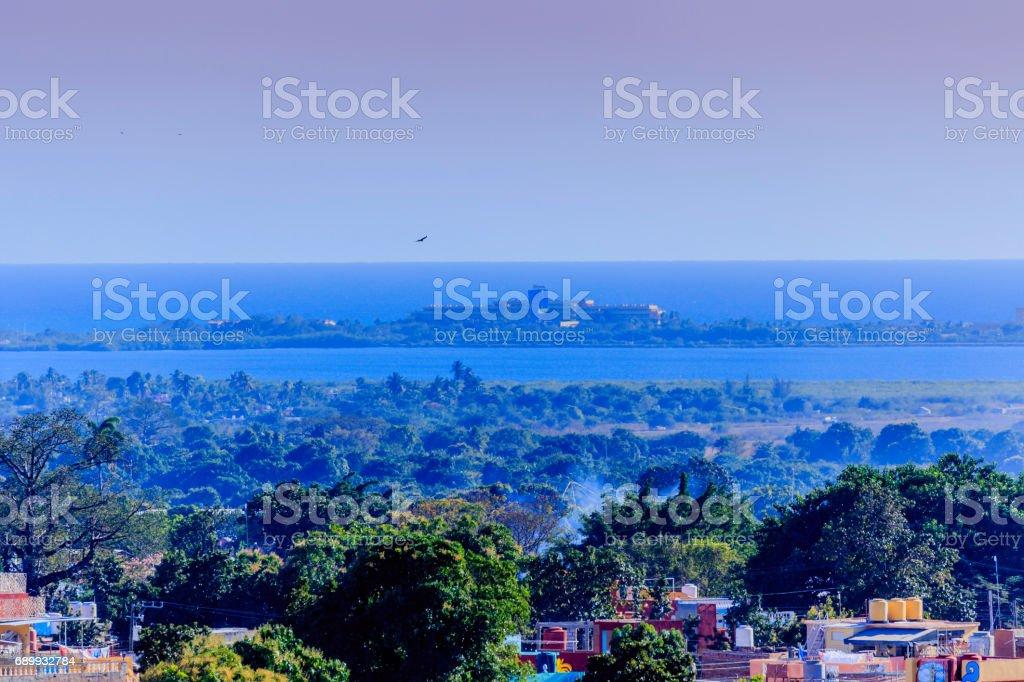 View of Trinidad stock photo
