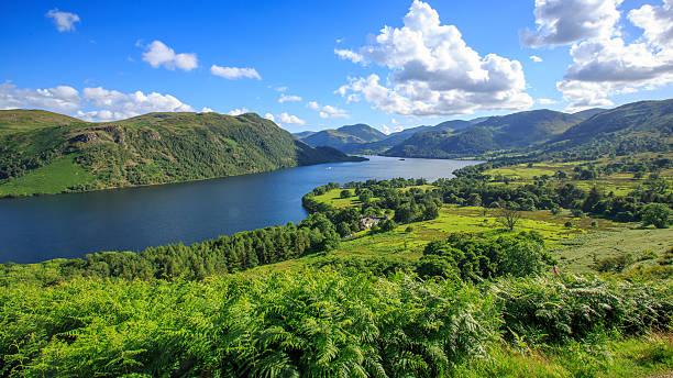 View of Ullswater Lake, Lake District, UK – Foto