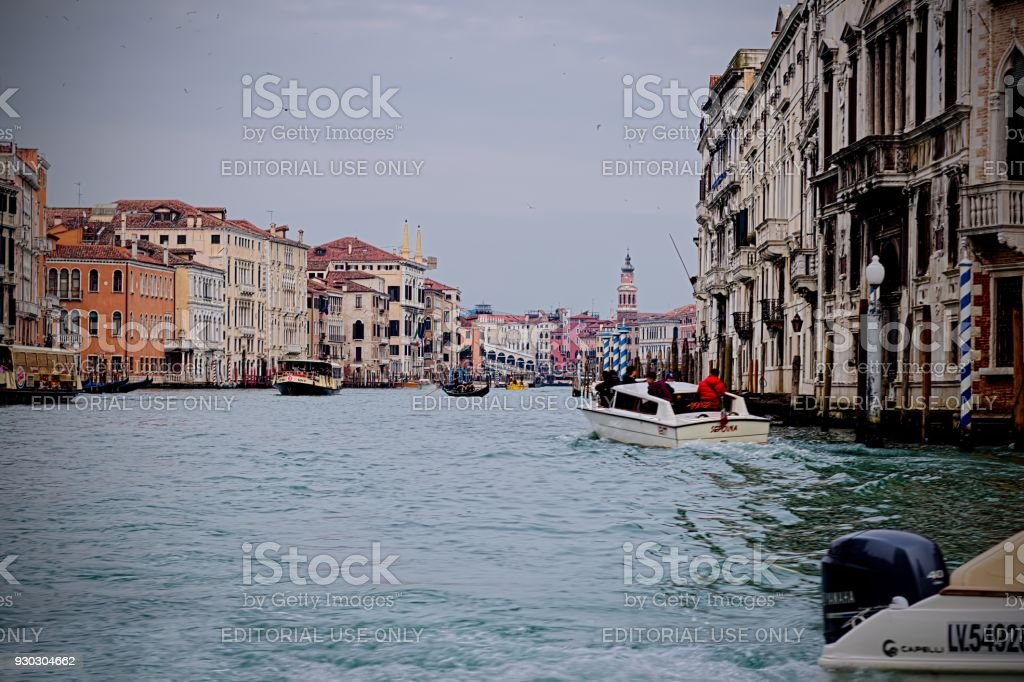 View of Venice stock photo