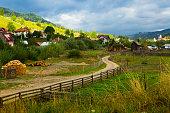 istock View of village Sadova, Romania 1291755234
