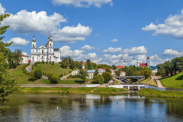 widok na witebsk, białoruś - białoruś zdjęcia i obrazy z banku zdjęć