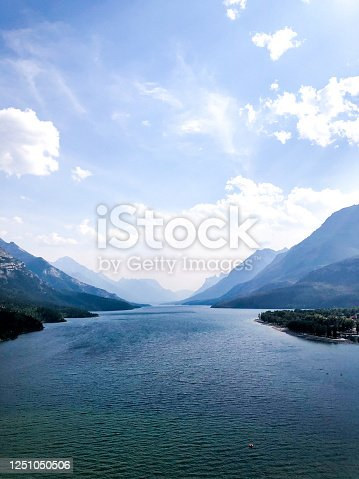 istock View of Waterton Lake 1251050506