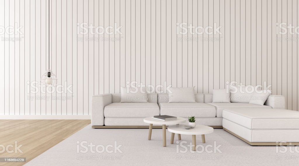 Strange View Of White Living Room In Minimal Style With Sofa And Machost Co Dining Chair Design Ideas Machostcouk