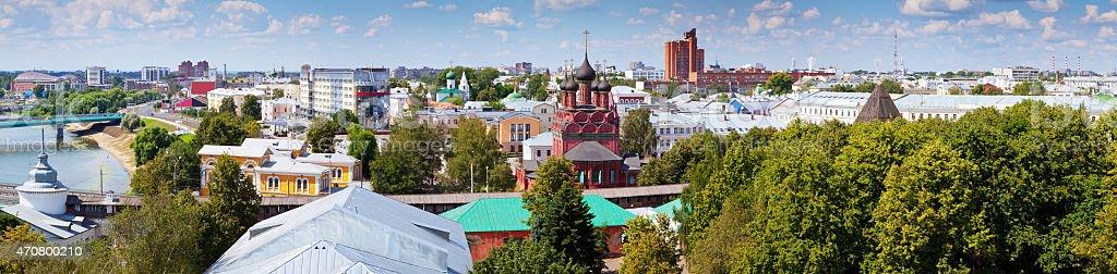 View of Yaroslavl stock photo