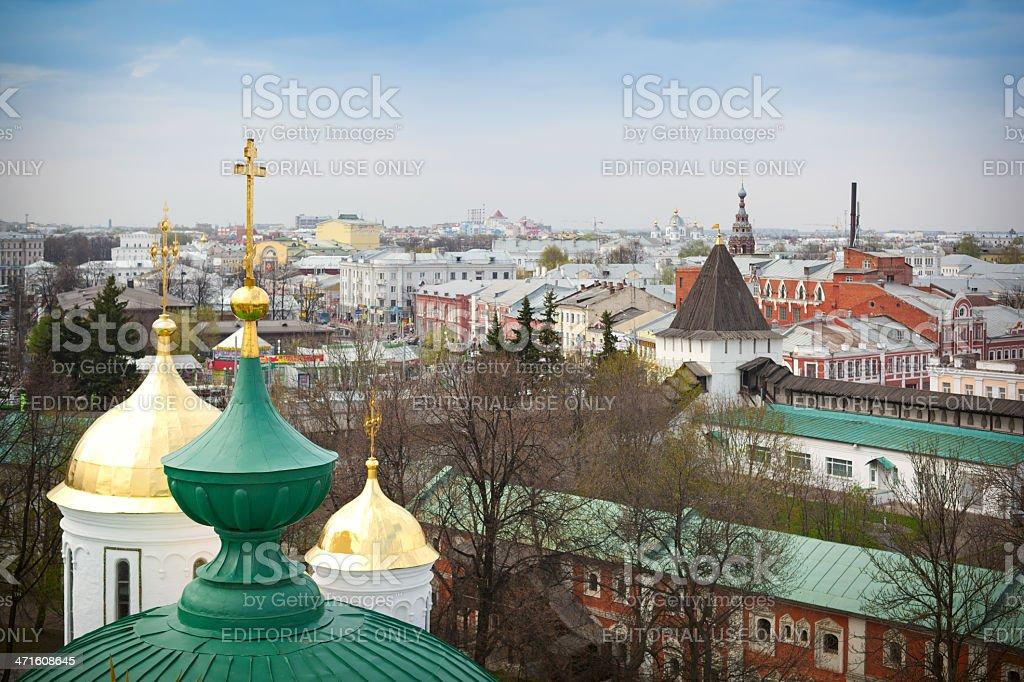 View of Yaroslavl' royalty-free stock photo