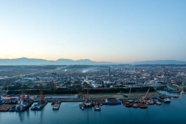 Ansicht von Yokkaichi Mie-Präfektur – Foto