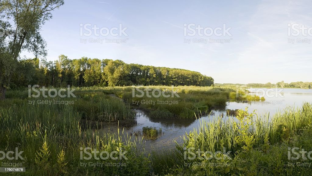 View on a lake royalty-free stock photo