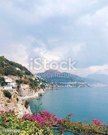 View on Amalfi coast , Italy travel