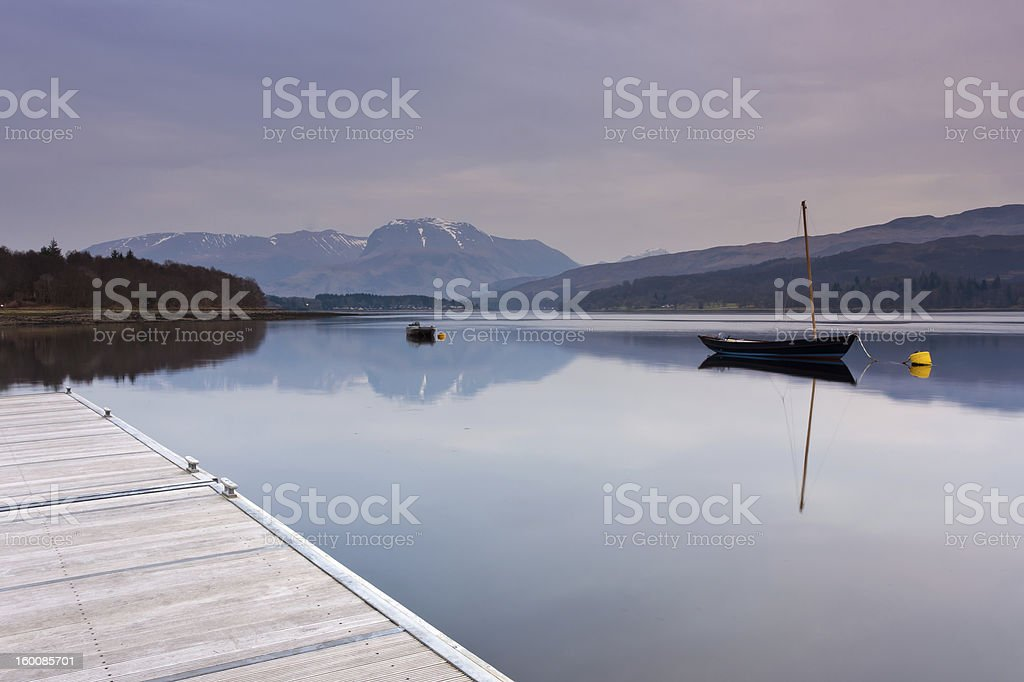 View on Ben Nevis stock photo