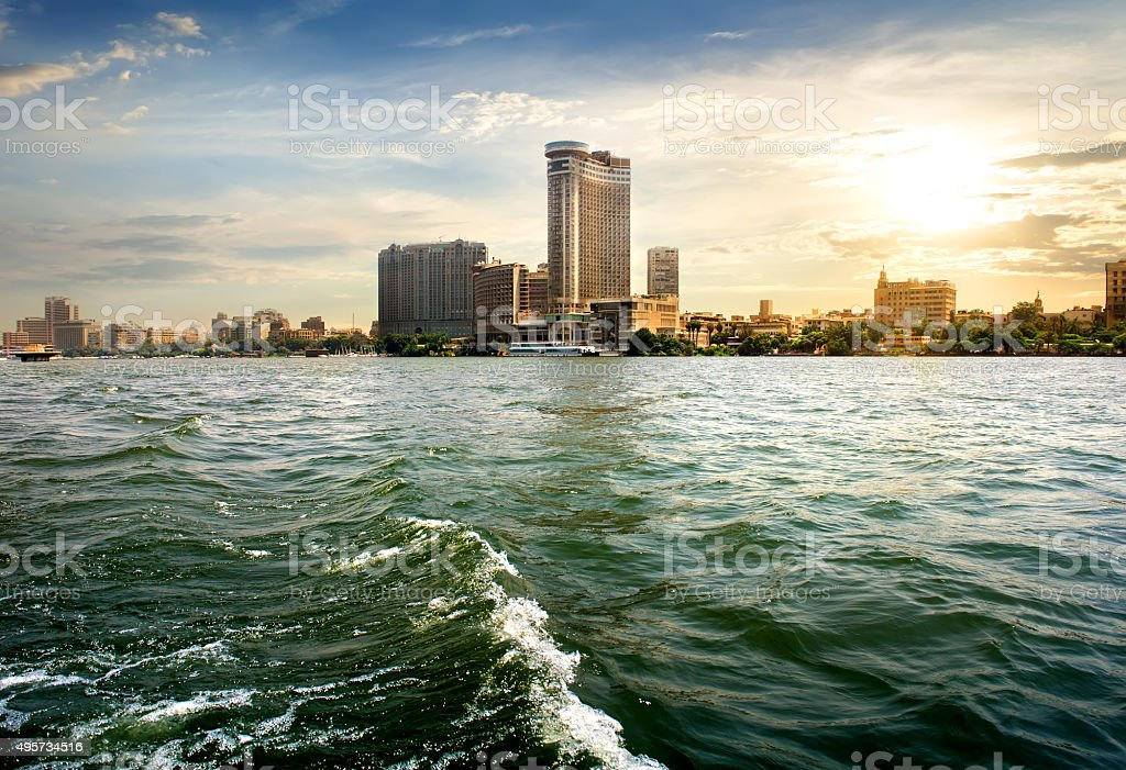 View on Cairo stock photo