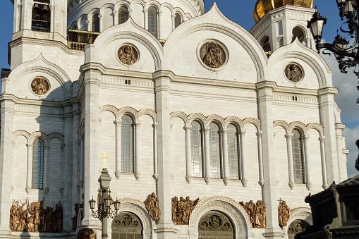 볼 그리스도 구세주 대성당 모스크바입니다 러시아 건물 외관에 대한 스톡 사진 및 기타 이미지