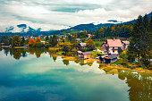 istock View on Gmunden, Austria 1287527190
