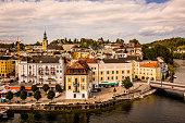 istock View on Gmunden city center in Austria 1176796865