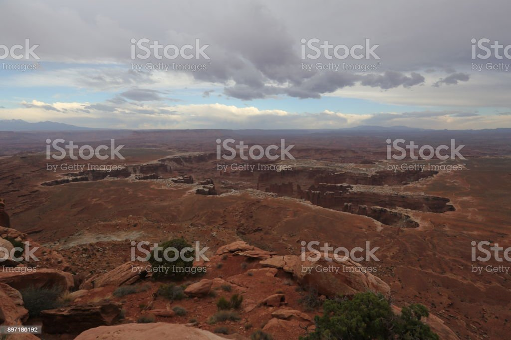 View on Grand canyon stock photo