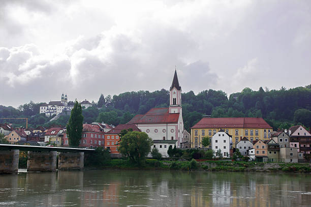 View on Innstad, Passau, Germany.​​​ foto