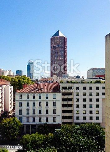 View on La Part-Dieu tower :