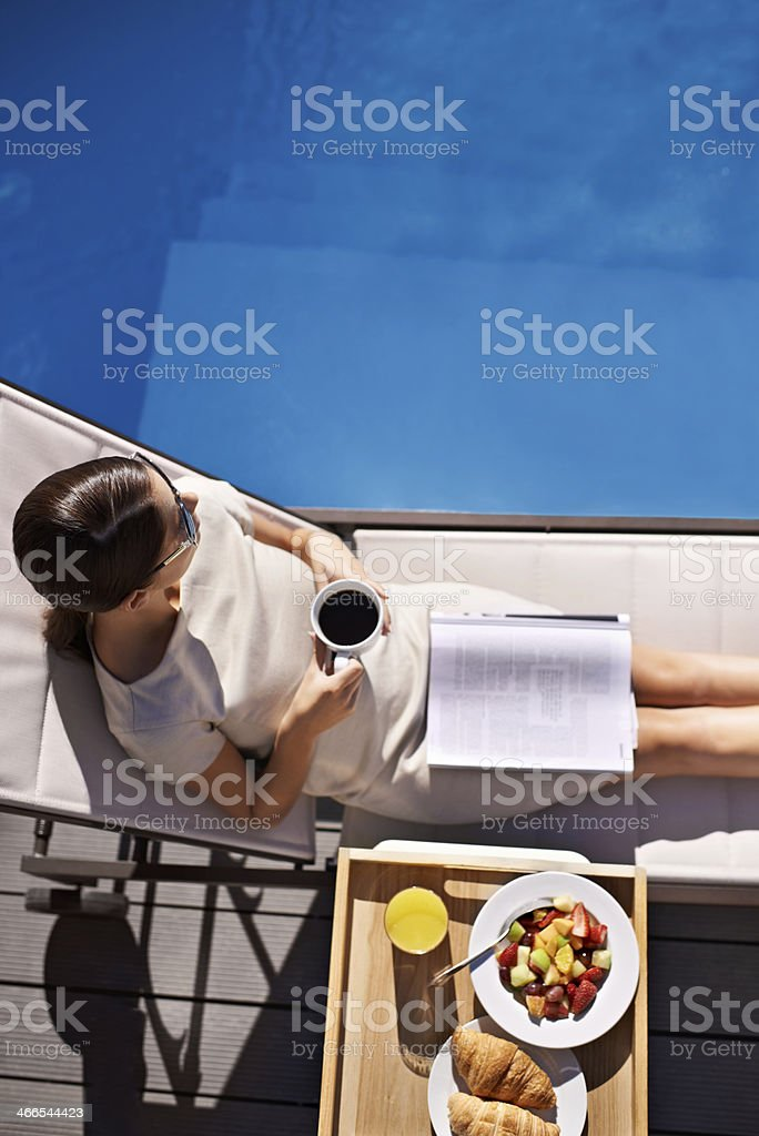 View on luxury stock photo
