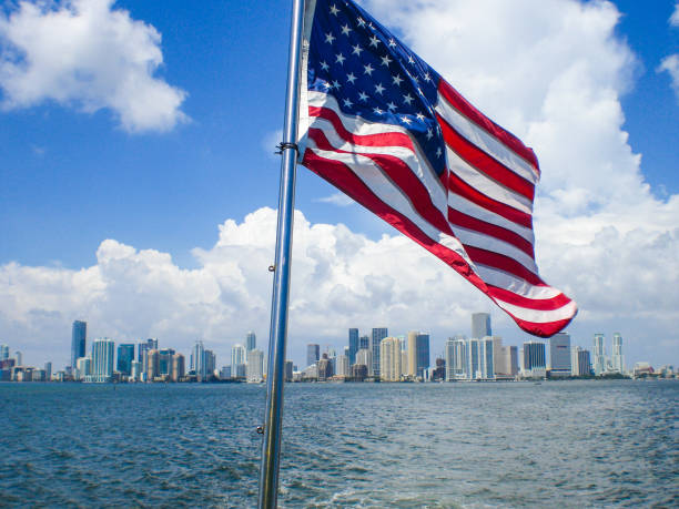 116 Miami Downtown American Flag Stock Photos, Pictures & Royalty-Free  Images - iStock