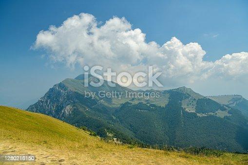 istock View on Monte Altissimo di Nago peak above Lake Garda in Italy 1280216150