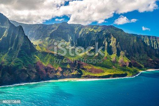 istock View on Napali Coast on Kauai island on Hawaii 860970846