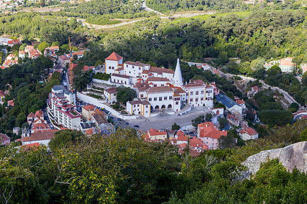 view on national museum palace sintra – Foto