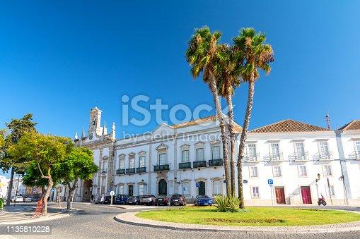beautiful architecture of Portugal in Algarve region