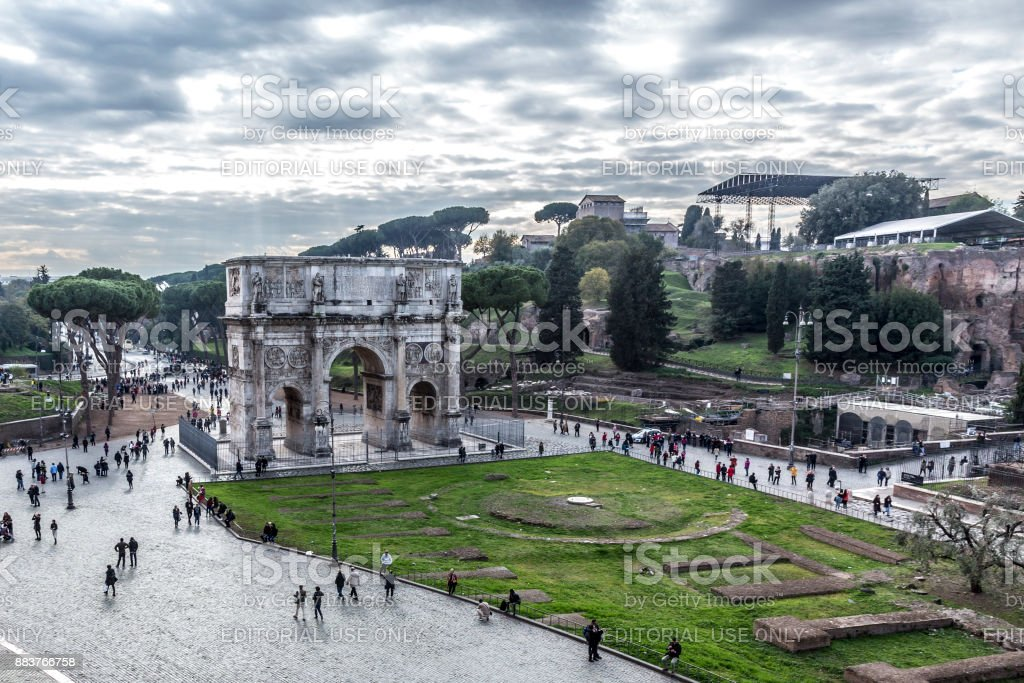 View on Palatine stock photo