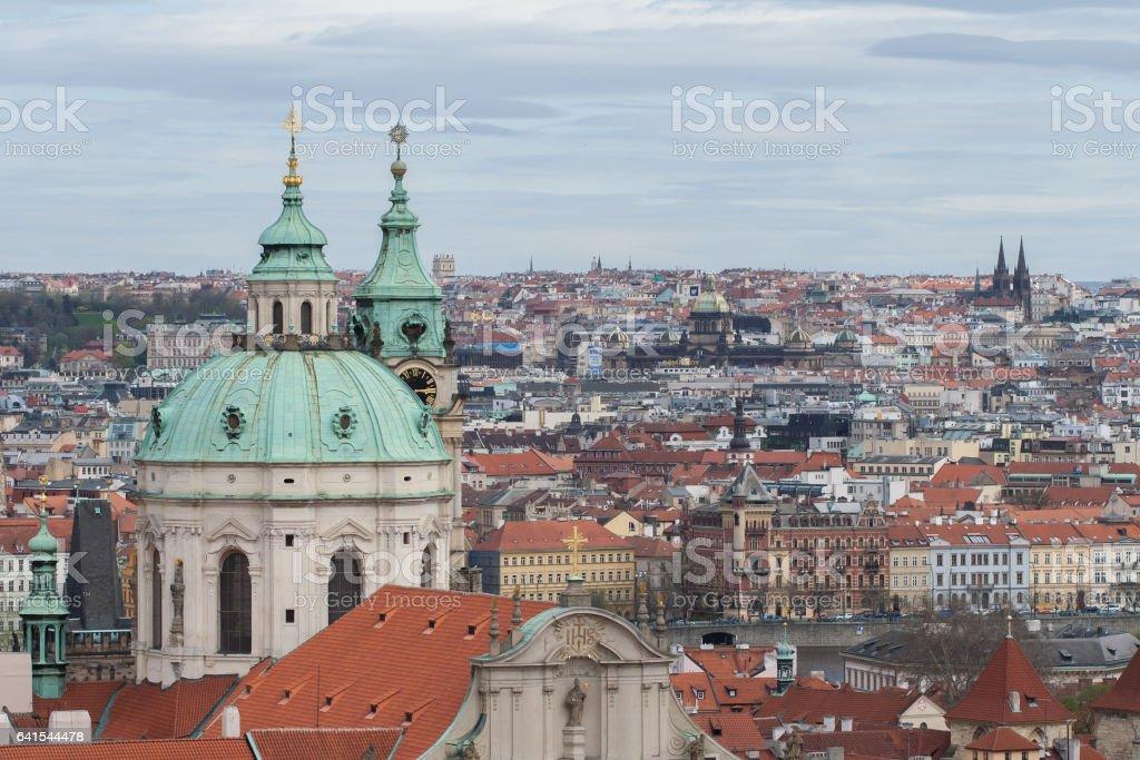 View on Prague skyline foto
