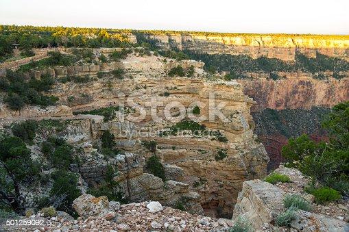 View on South Kaibab Trailhead at Grand Canyon, Arizona, USA