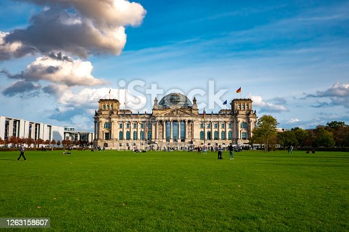istock View on the Reichstag building in Germany 1263158607