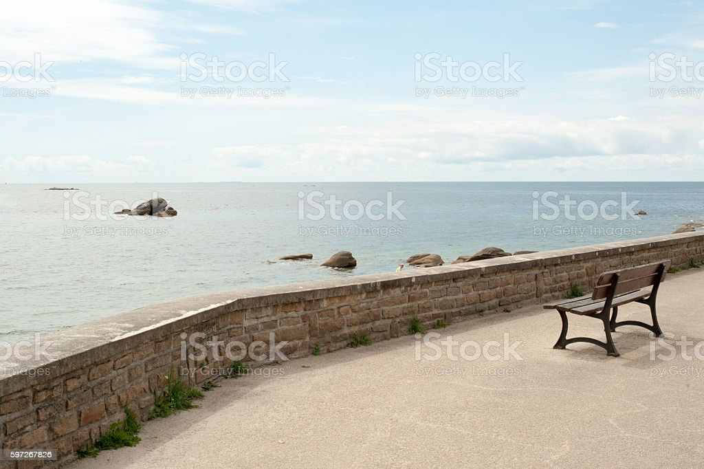 View on the Sea royalty-free stock photo