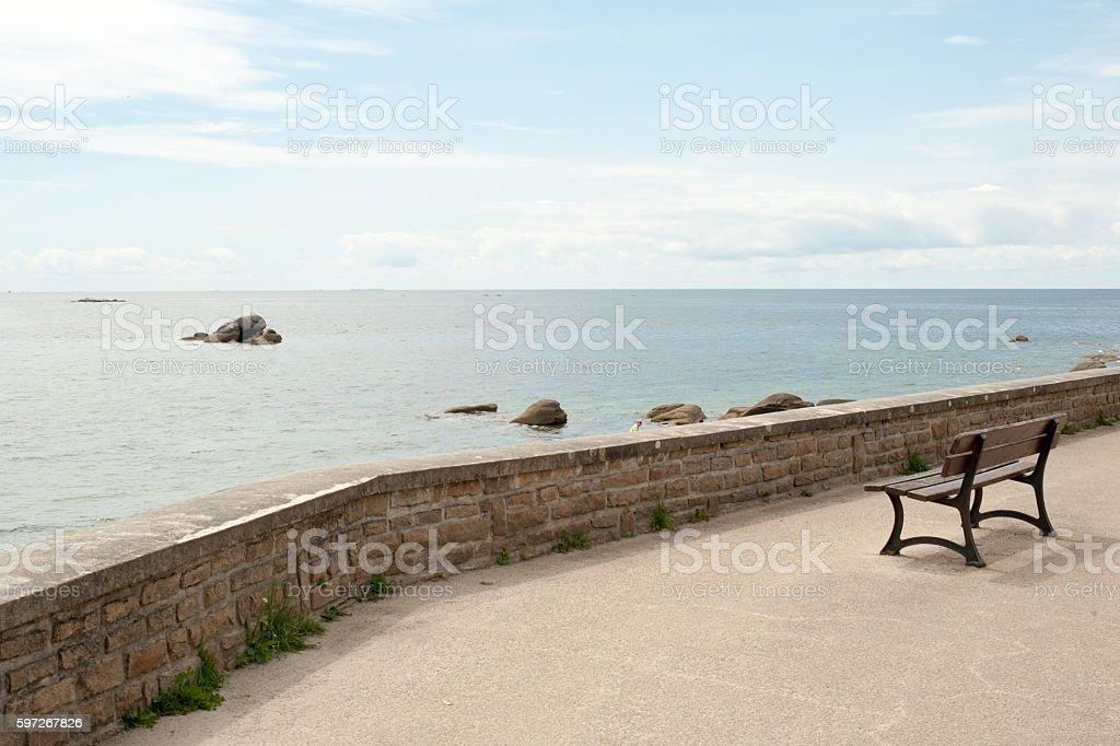 Blick auf das Meer Lizenzfreies stock-foto