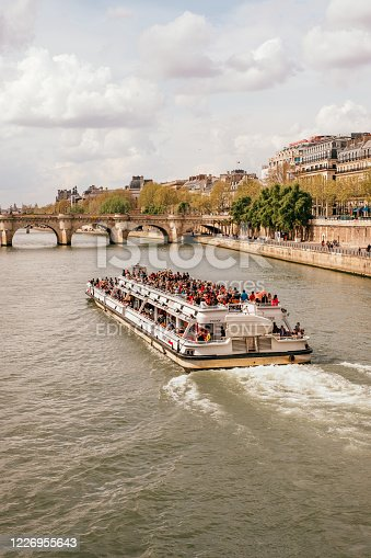 istock View on the Seine river 1226955643