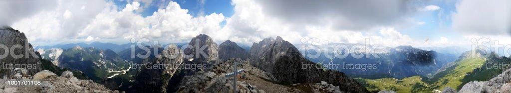 Ver en los Alpes occidentales - foto de stock