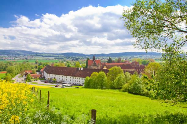 Blick auf die Stadt Salem, Deutschland – Foto