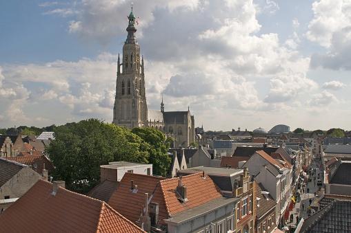 View over Breda