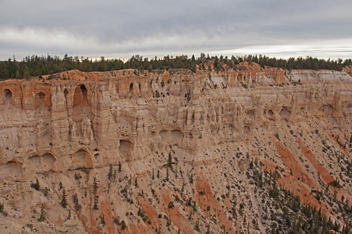 View over Bryce Canyon from Bryce Point