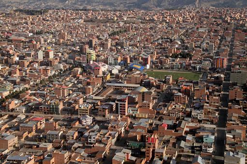 istock View over El Alto, Bolivia 868883704