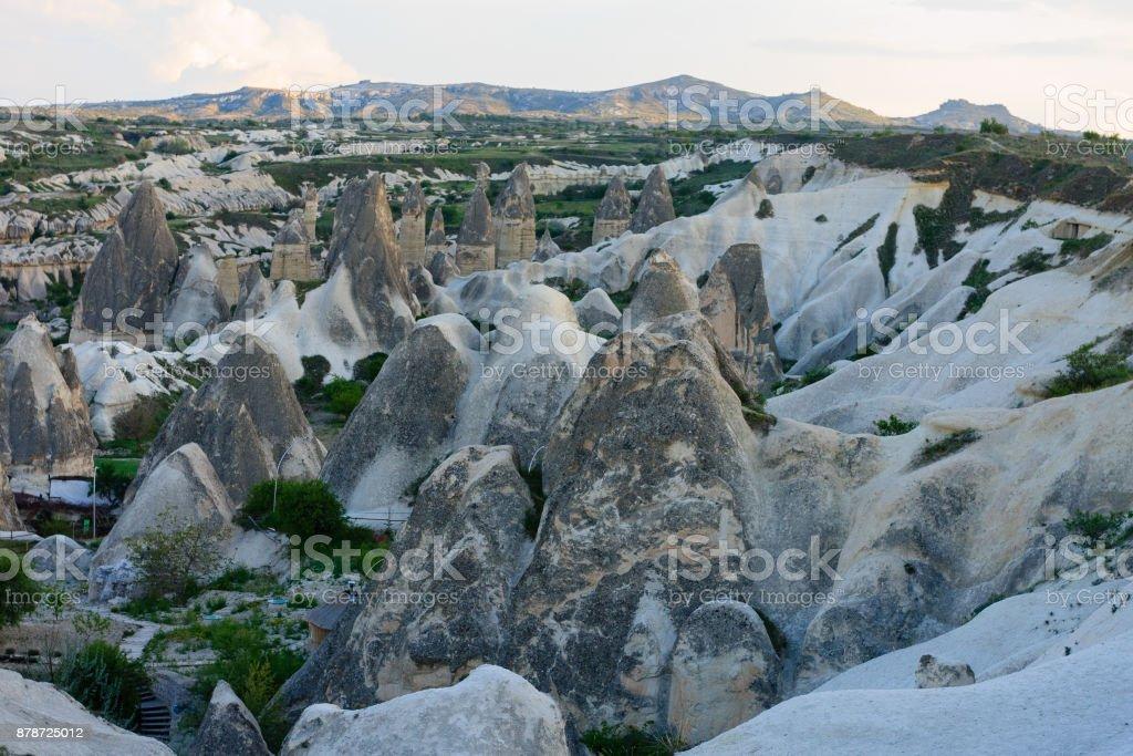 Photo De Stock De Vue Sur La Vallee De Cheminee De Fee En Cappadoce