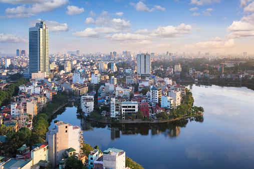 View Over Hanoi Vietnam Stock Photo - Download Image Now