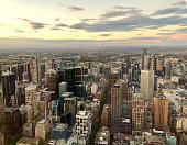 cityscape,Melbourne,scenics,panorama,skyscrapers
