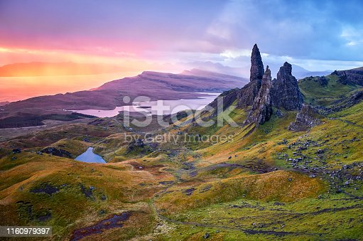 1160979608istockphoto View Over Old Man Of Storr, Isle Of Skye, Scotland 1160979397