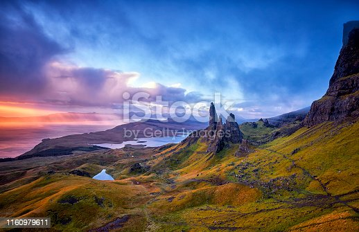 1160979608istockphoto View Over Old Man Of Storr, Isle Of Skye, Scotland 1160979611