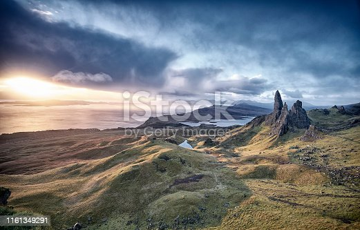 1160979608istockphoto View Over Old Man Of Storr, Isle Of Skye, Scotland 1161349291