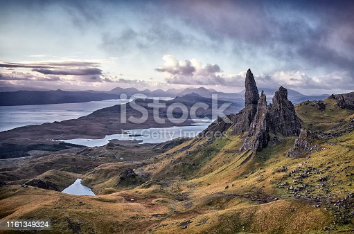 1160979608istockphoto View Over Old Man Of Storr, Isle Of Skye, Scotland 1161349324
