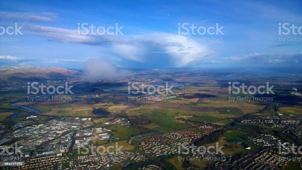 Vista sobre Rio Forth - Foto de stock de Arranjo royalty-free