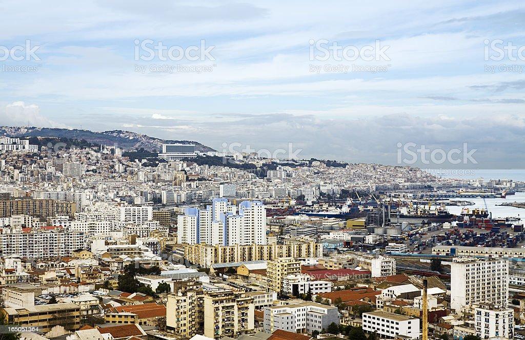 Blick auf die Stadt von Algier – Foto