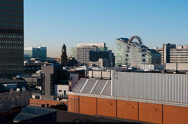 Blick auf die city of manchester – Foto